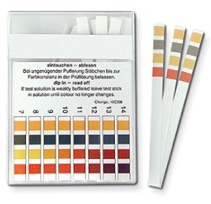 Natural Home Cures Pure Alkaline Water Drops pH Testing Strips